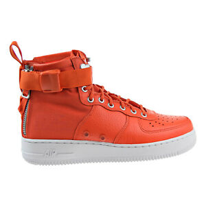 ed28662f Nike SF Air Force 1 MID Men's Basketball Shoes Team Orange 917753 ...