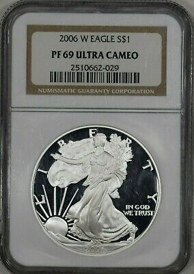 2006-W American Silver Eagle Proof NGC PF69 UCAM