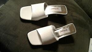 NEW Worthington Paige Womens Shoes Sz 6 M White Open Toe & Heel Leather NIB