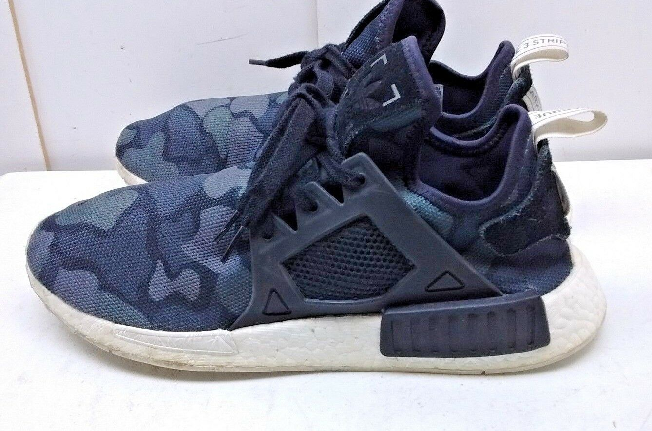 Adidas Boost Minimalist Men Camouflage Athletic Sock Sneaker shoes Size 12M 46.5