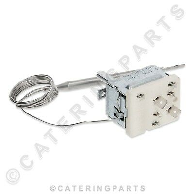 Ts19 EGO 55.34055.020 fry-top four thermostat 5534055020 50 à 300 ° C 3 ph 16A