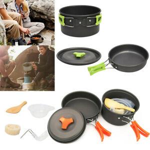 Outdoor-Cookware-Set-Cooking-Camping-Hiking-Cookware-Picnic-Bowl-Pot-Pan-OR