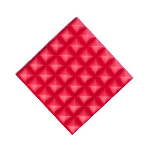 20pcs 30x30 Acoustic Panels Tiles Flame Retardant Sound Absorption Proof Foam UK