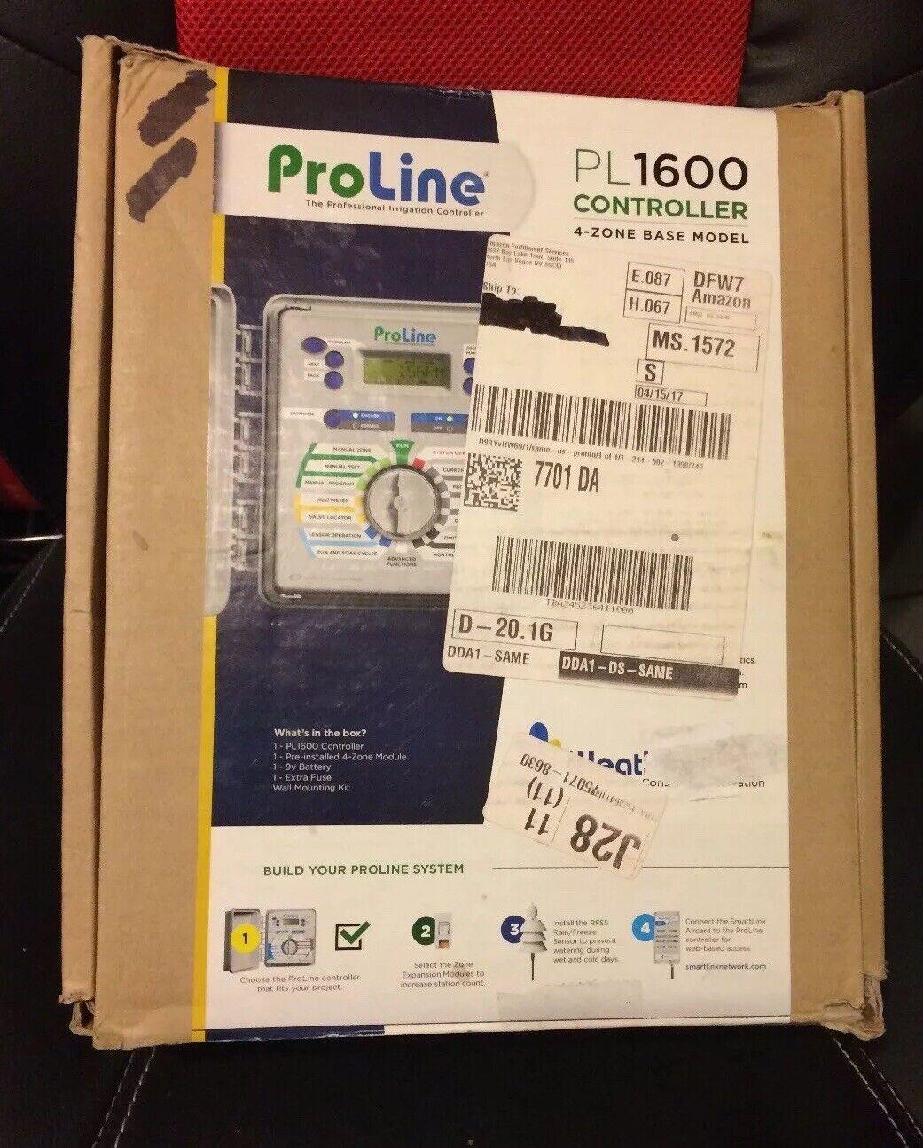 Nuevo En Caja Original Weathermatic ProLine PL1600 Controlador De Riego interiores 47-MB4