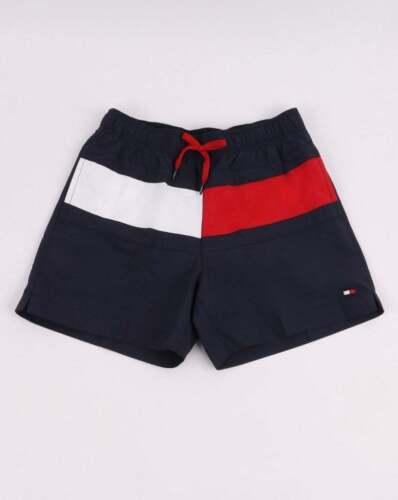 Tommy Hilfiger Flag Swim Pantaloncini in Navy Blue-nuotatori Pantaloncini da Spiaggia BAULI