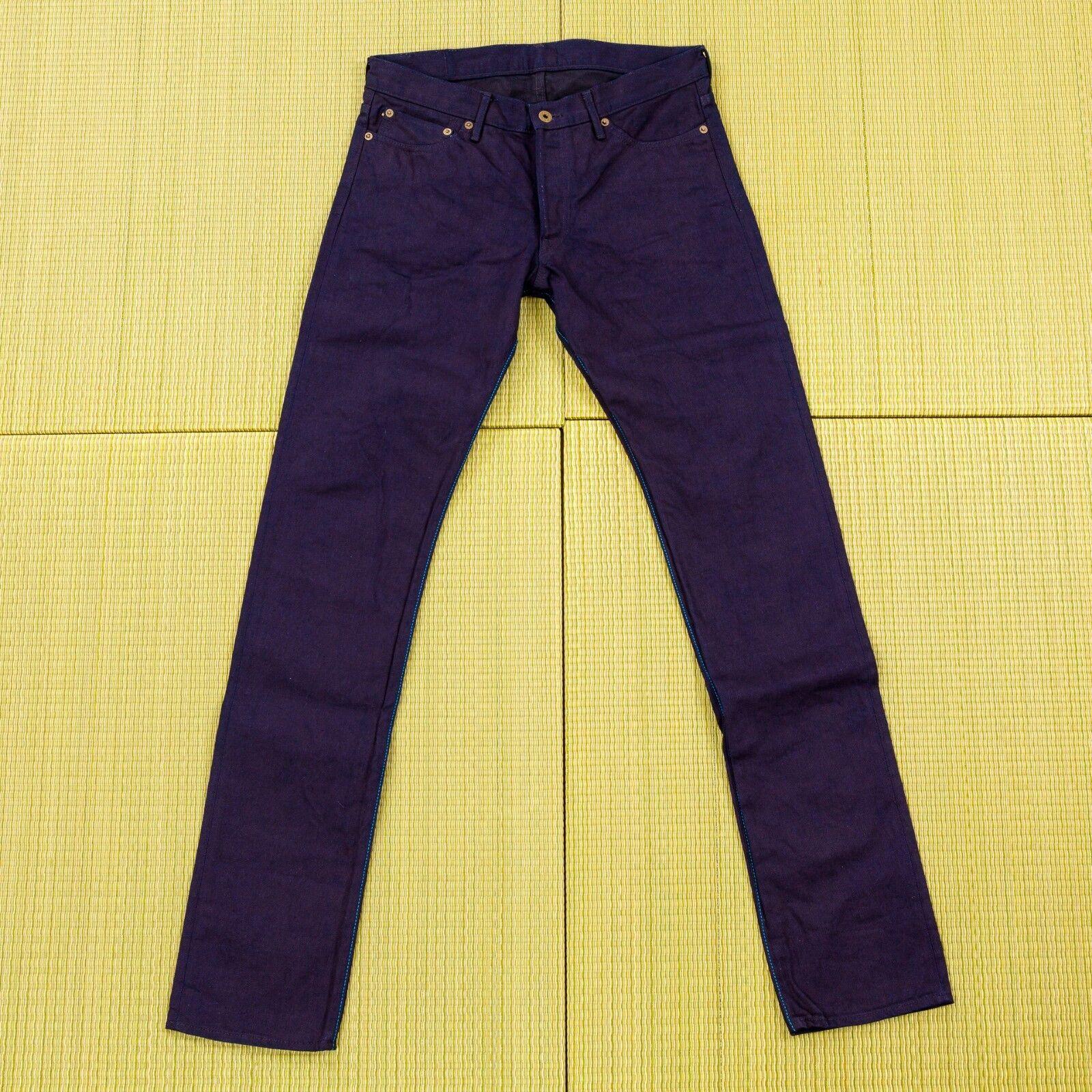 Japan bluee jeans denim pants for men new fashion button made in Kojima