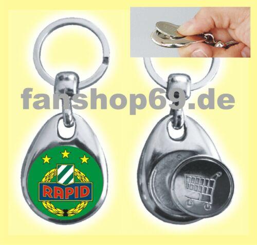 Schlüsselanhänger Einkaufschip Rapid Wien