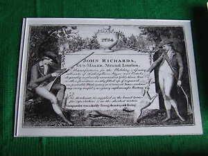 JOHN RICHARDS GUNMAKER GUN CASE LABEL 2 Accessories Gun Maker - Blaydon, Tyne and Wear, United Kingdom - JOHN RICHARDS GUNMAKER GUN CASE LABEL 2 Accessories Gun Maker - Blaydon, Tyne and Wear, United Kingdom