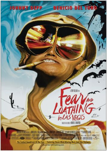 Fear And Loathing In Las Vegas Classic Large Movie Poster Print