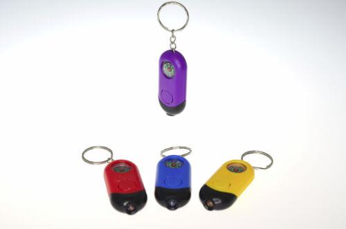 6x DEL Lampe de poche avec boussole et porte clé Mitgebsel Enfants Anniversaire