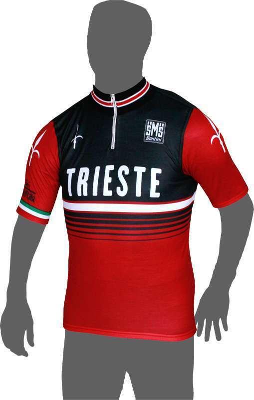 GIRO D ITALIA 2014 Triestetappe MAGLIASantini ciclismo a maniche corte maglia