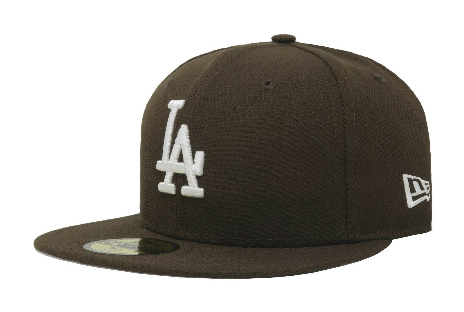 83240a07eed Era 59fifty MLB Baseball Cap Los Angeles Dodgers Walnut Brown Fitted ...