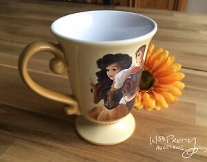 2013-Disney-Designer-Fairytale-Couples-SNOW-WHITE-amp-PRINCE-Mug-New-Mint
