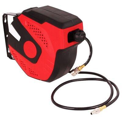 Automatik Druckluftschlauch 13 Meter Schlauchtrommel Drucklufttrommel Aufroller