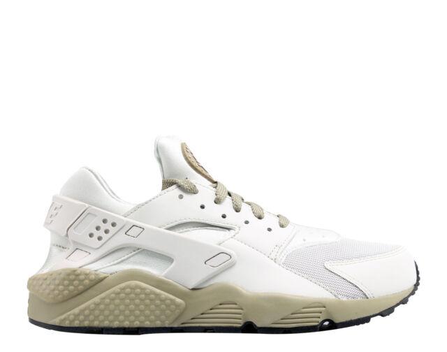 online store 1c3e9 da558 Nike Air Huarache Mens 318429-050 Light Bone Olive Running Shoes Size 11