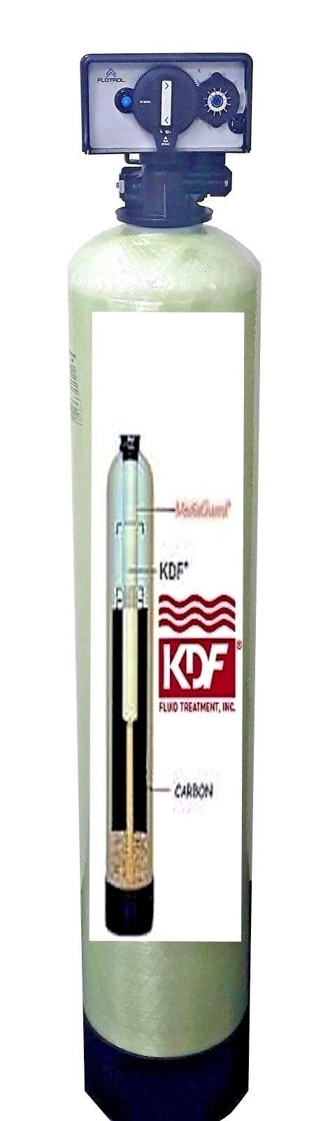 Maison tout entière Filtres à Eau Systèmes KDF85 GAC Fer Sulfure d'hydrogène minuterie réextraction