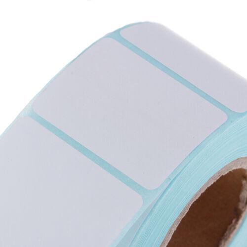 800 40X30MM Leere Thermo Etiketten Rollen Selbstklebende Adressetikett Aufkleber