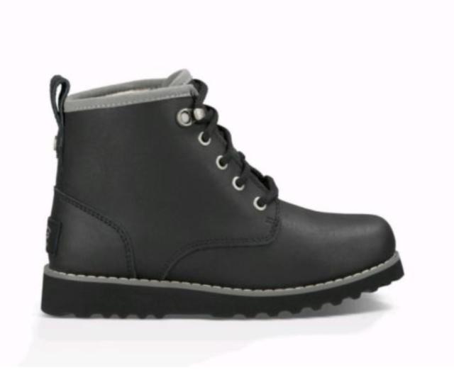 17170aba1fe UGG Kids Maple Waterproof BOOTS Black 1003165k Size 10