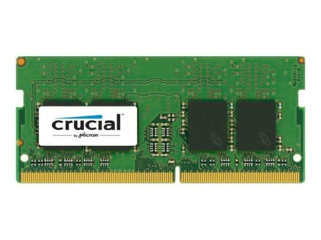 Crucial 16GB DDR4 2666 MHZ PC4-21300 Sodimm 260-Pin PC Mémoire CT16G4SFD8266