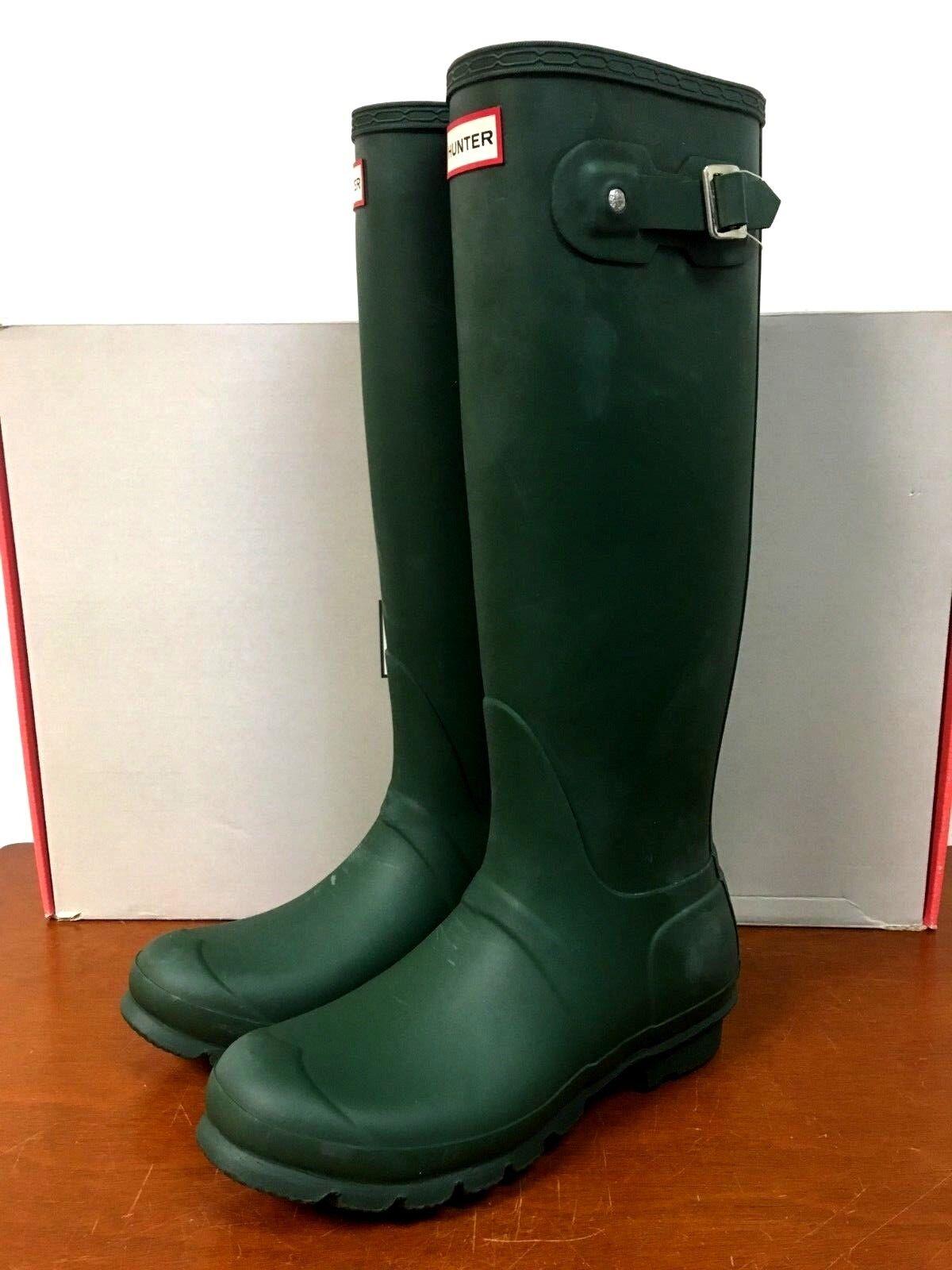 Hunter Original Tall botas De Lluvia-Mate verde - 8N_30