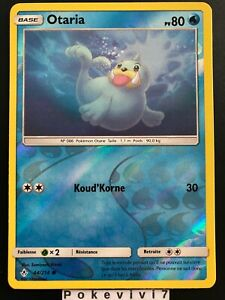 Carte-Pokemon-OTARIA-44-214-REVERSE-Soleil-et-Lune-10-SL10-FR-NEUF