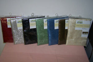 Window-Valance-Assortment-60-034-x-14-034-New-Four-Colors-Available-to-Choose-From-Now