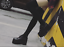 Womens-Retro-Square-Toe-High-Wedge-Platform-Muffins-Lace-Up-Club-Creepers-Shoes thumbnail 2