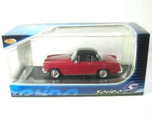 rot 1956 Simca Coupé de Ville
