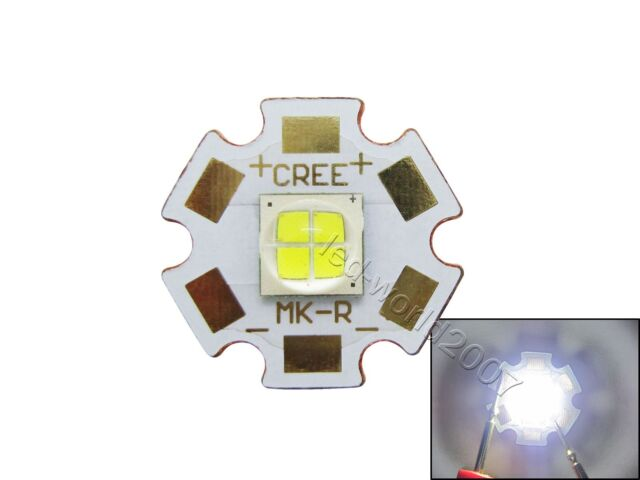 5x Cree MK-R Cool White/Neutral White/Warm White LED 20mm Star Copper PCB Board