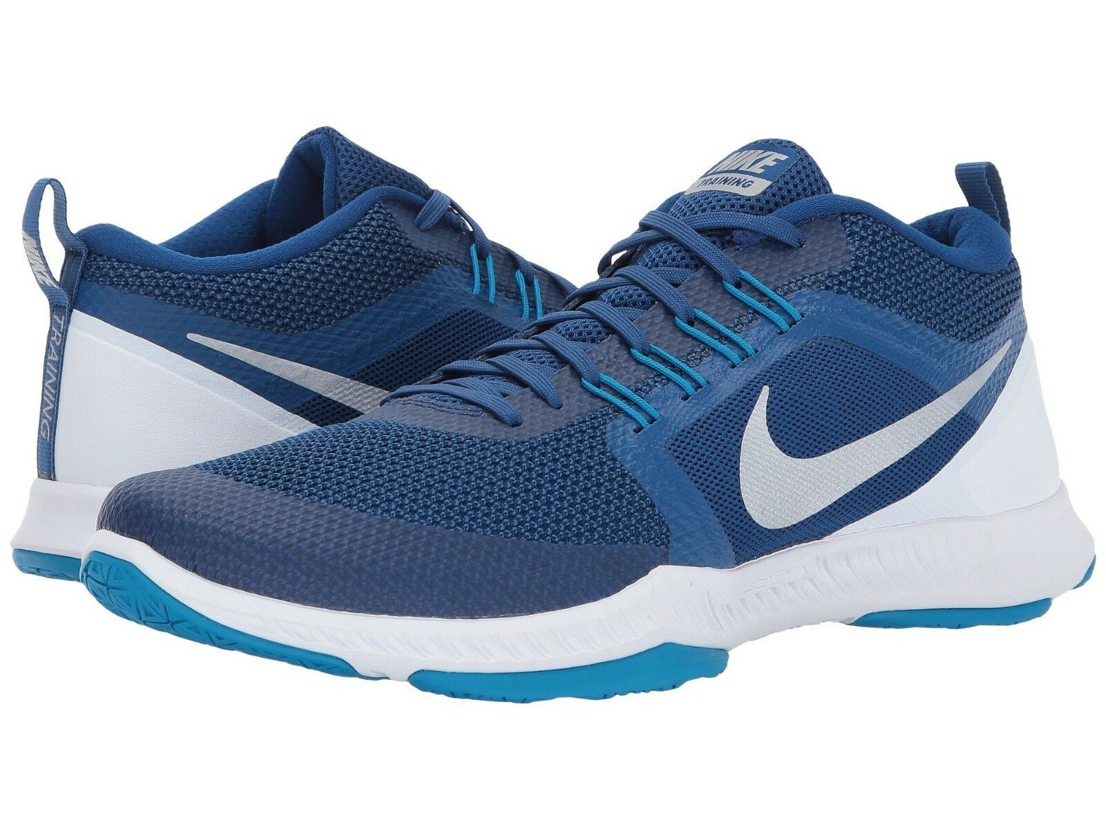 Men's Nike Zoom Domination TR Training Shoes, 917708 400 Multip Sizes Blue/Silve