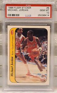 1986-Fleer-Sticker-Basketball-Michael-Jordan-ROOKIE-8-PSA-10-GEM-MINT