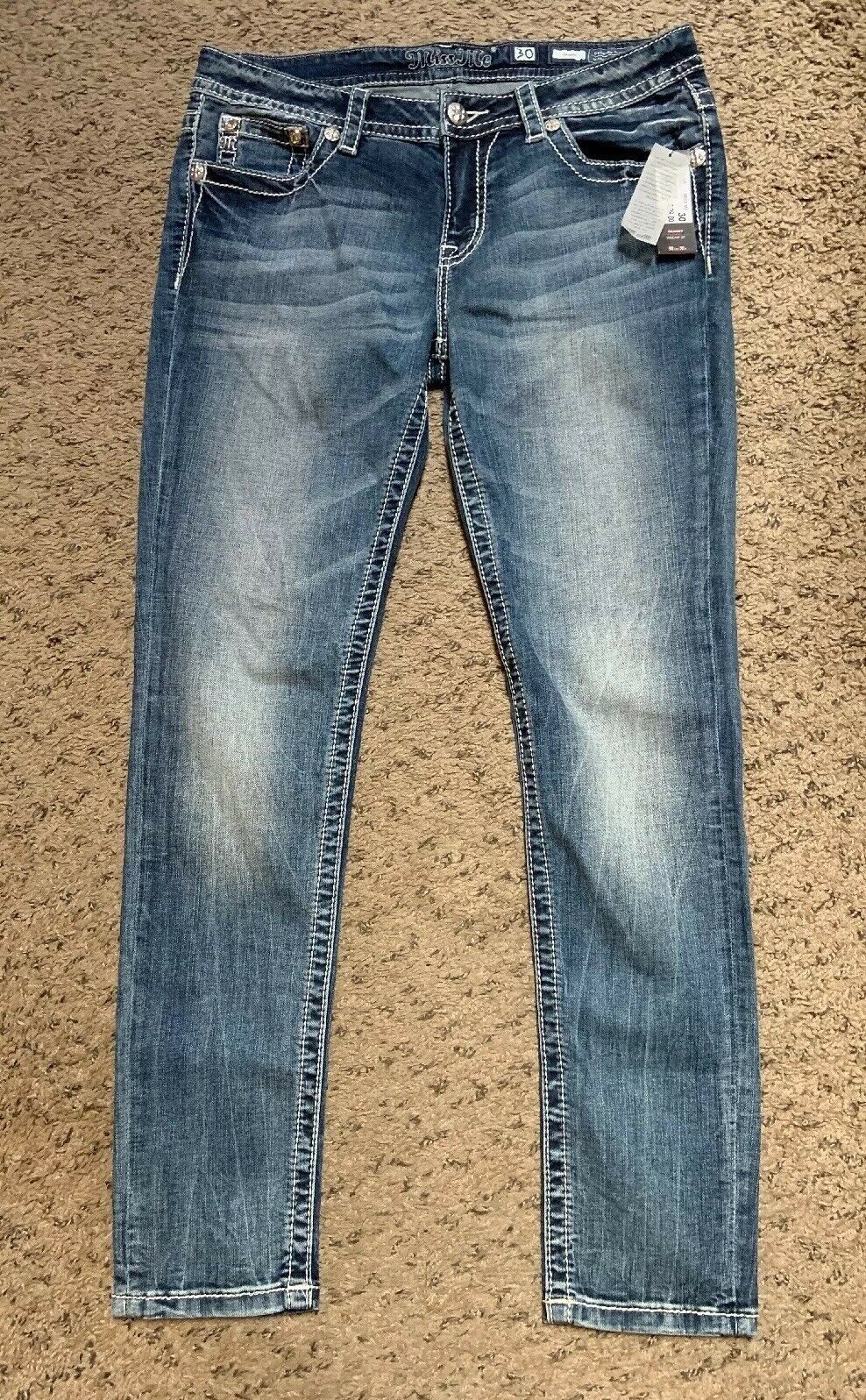 Miss Me Ladies Jeans  m31105 Size 30 30