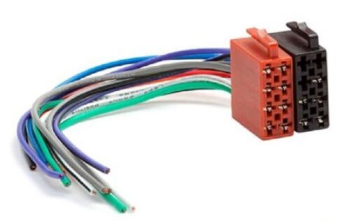 Autoradio ISO Auto Radio Stecker Adapter Kabel Strom Lautsprecher DIN