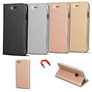 Book-Buch-Form-Case-SMART-PREMIUM-Flexi-Etui-Klapp-Tasche-Huelle-Huawei-Mate-9