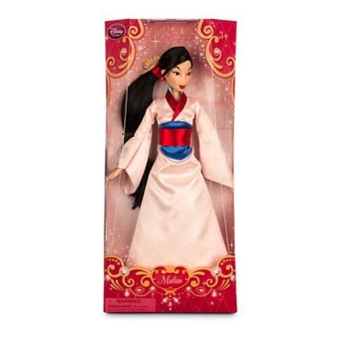 "Disney Store Classic Mulan Chinese Princess Toy Doll Figure 12/"" Girls NIB"