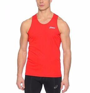c888686b39eb6d Men s New ASICS Running Vest Sleeveless T-Shirt Tank Top Singlet ...