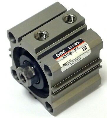 SMC Type CDQ2B50-15D Miniature Compact Cylinder Double Acting Single Rod 50-15mm