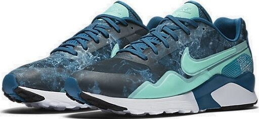 New Nike Air Pegasus Trainers Chaussures Sneakers, femmes Ladies Girls - Bleu