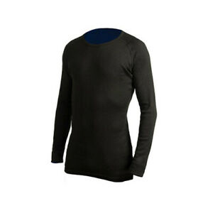 BLK-SML-360-Degrees-Adult-Active-Outdoor-Quick-Drying-Polypro-Thermal-Top