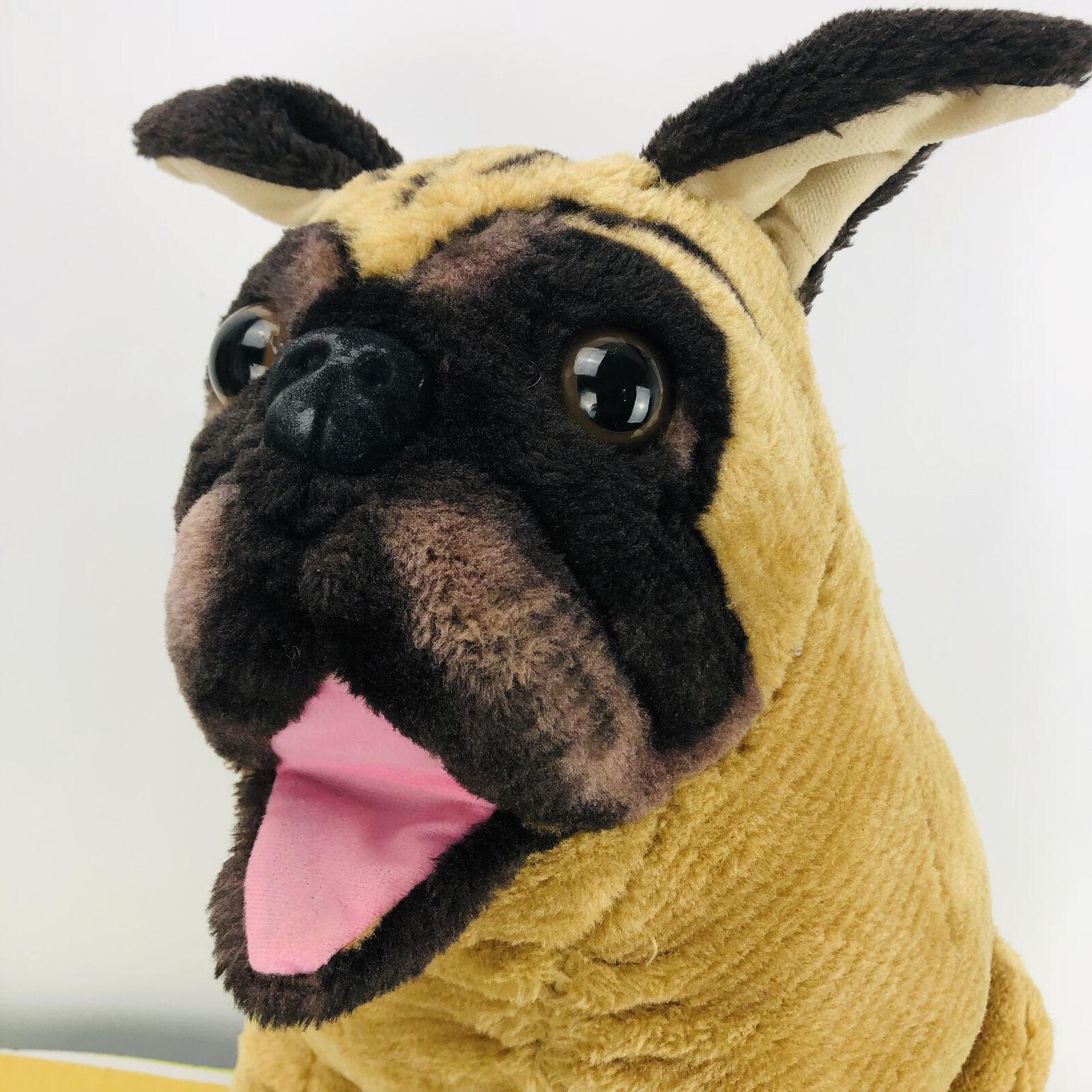 Melissa & Doug Large Pug Dog Plush 20  Stuffed Stuffed Stuffed Animal Toy Pet Puppy d02439