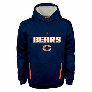 Image is loading Chicago-Bears-Youth-Kids-Shadow-Performance-Hoodie-Kids- fee2dc994