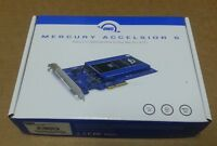Owc Mercury Accelsior S Pcie Express To Sata 2.5 Hdd Sdd Bracket Adapter Card