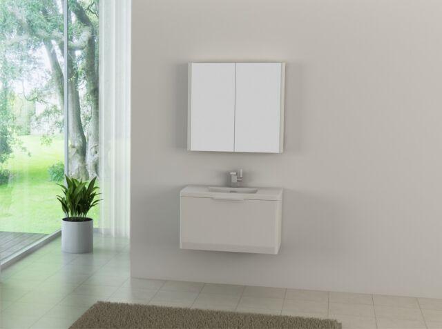 🔥 Badmöbel Set Badezimmer Waschbecken Badschrank Waschtisch Gäste WC Badregal