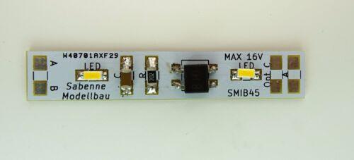 SMIB45 45mm SMD LED Waggon Innenbeleuchtung Warmweiß Analog//Digital C3236