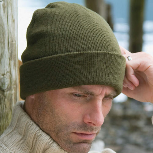 Mens Womens Result Winter Lightweight Windproof Thinsulate Beanie Warm Hat New