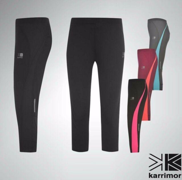 12 Size Ladies Karrimor Fitness// Running// Yoga// Sports 3//4 Length Capri Tights