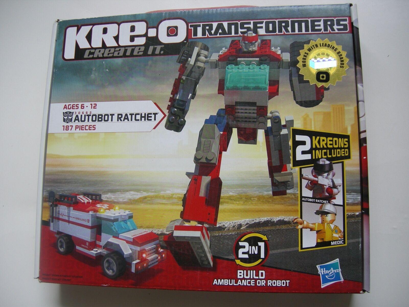 Transformers Build It Kit Ratchet Autobot New KRE-O Construction Gift 30662