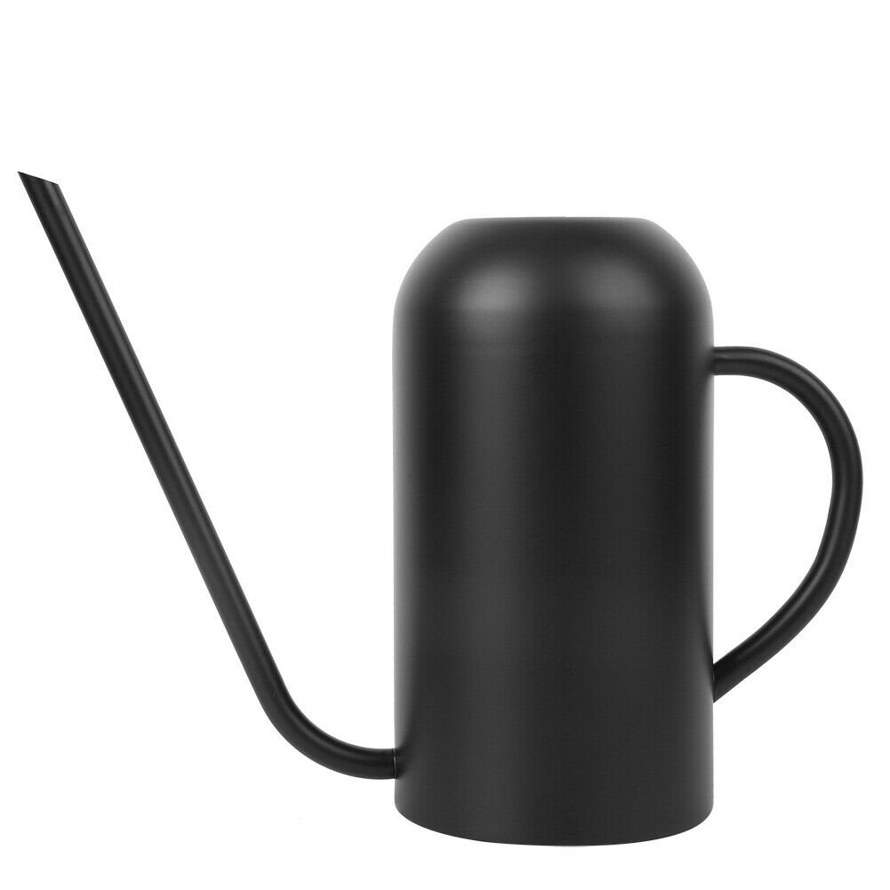 Long Spout Watering Can Black Watering Pot for Garden Flowers Home Use Orchids
