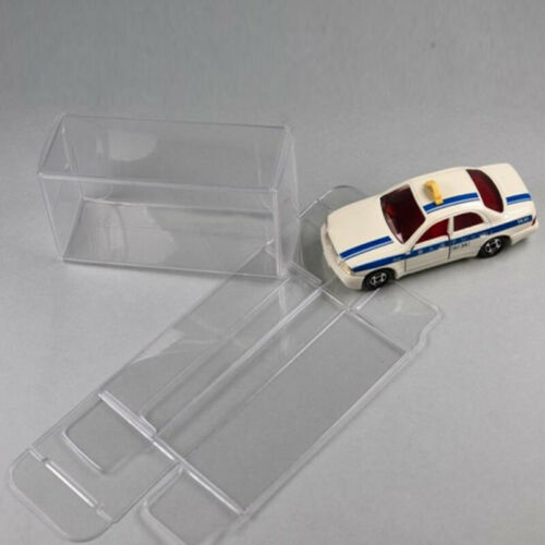 20//25//50 Clear Plastic PVC Display Box Protector Case For Diecast Model Toy Car