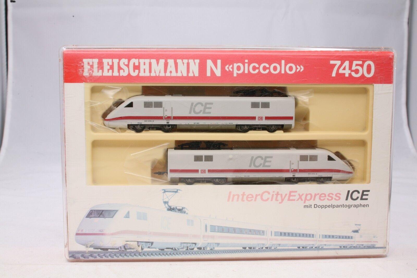 Fleischmann N piccolo 7450 ICE 1 E-Triebzug de la DB Intercity Express 1 160